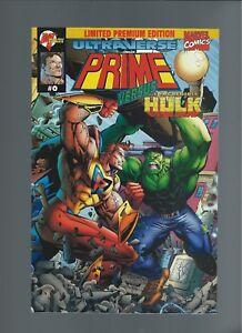 Prime v. Hulk  #0 Limited Premium Edition Mint 9.6+ Direct Edition NO UPC