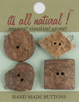 Assorted Sizes  Marbalized Paisley Dark Olive Handmade Natural Bone Buttons