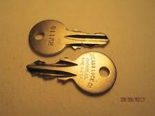 JUKEBOX WURLITZER CABINET KEY RW110 - FITS 3500,3600,3700,7500,3800,3810,1050