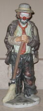 EMMETT KELLY JR. SWEEPING UP FLAMBRO LIMITED EDITION HOBO CLOWN DOLL NO BOX
