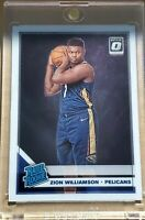 2019-20 Optic Zion Williamson Rated Rookie