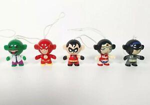 DC Comics Justice League Kinder Collectable Figures Twisthead Figure Superheros