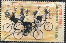 SOUTH AFRICA 2006 CYCLISTS COMPLETE POSTALLY USED Sc#C75 1180