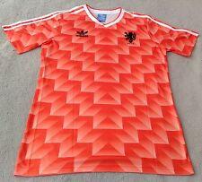 Netherlands 1988 Marco Van Basten Classic Home Retro Jersey XL