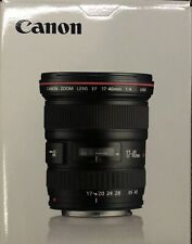 Canon EF 17-40mm f/4L USM Lens New In Box