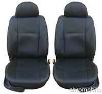 QUALITY BLACK ECO LEATHER SEAT COVERS FOR FORD CONNECT TRANSIT