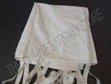 1 Pottery Barn DUPIONI SILK Window Drapes Panels Curtains Tie Top Ivory 50x63