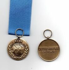 UNITED NATIONS MEDAL FOR UN HQ NEW YORK