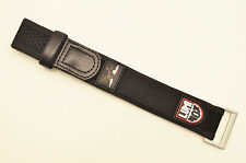 Luminox Watch band 22mm 26mm Black nylon  strap Navy Seal Series 3000 3900