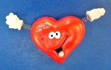 Russ Pin Valentines Vintage Heart Crazy For You Spring Arms Smiley Face Holiday