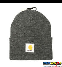 37ce2aa0 Carhartt Mens Acrylic Watch Hat A18 Rib Knit Beanie Cap Warm Ski (NWT All  Color