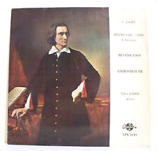 "33T F. LISZT Disque LP 12"" PIANO CONCERTO BENEDICTION Gabor GABOS -QUALITON 1119"