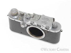 Leica IIIa Camera Body -Looks Rough, Works Well-