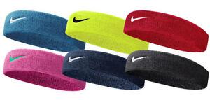 Nike Headband Swoosh Kopfband Stirnband Schweissband Fitness Joggen Elastic