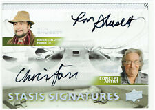 Alien Movie Dual Autograph Card Stasis Signatures SSD2 Ron Shusett & Chris Foss