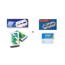 Derby Extra Double Edge Razor Blades Blue + Green Pack of 60 / SAME DAY POST