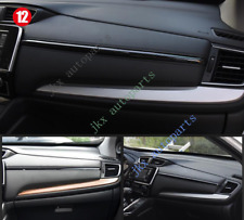 Carbon Fiber Color Center Console Dashboard Moulding Trim for Honda CRV 17-18 k