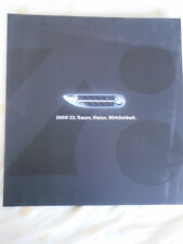 BMW Z8 poster brochure c2000 German text