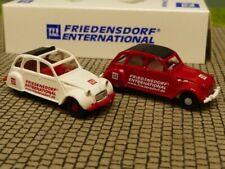 1/87 Wiking Citroen 2CV Friedensdorf Set
