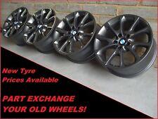 "Genuine BMW 18"" 398 Grey Alloy Wheels Fit 3 Series F30 F31 F34 GT 4 Series"