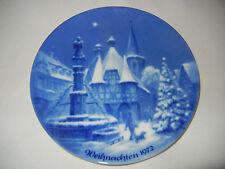 berlin-design piatto di Natale 1972 Michelstadt + BROCHURE (MIO pos. 1972-5)