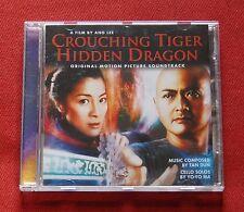 Crouching Tiger, Hidden Dragon - OST Soundtrack CD - music by Tan Dun & Yo-Yo Ma