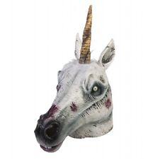 Latex Zombie Unicorn Mask Costume Accessory SALE! fnt