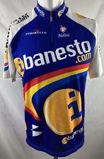 Team Banesto Cycling Shirt Nalini Spain Camiseta Jersey. Adults Size 4.