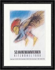 50. Hahnenkammrennen Kitzbühel 1990 Super G Slalom  Faks_Plakatwelt 089