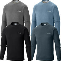 "New Mens Columbia ""Hart Mountain II"" Crew Neck Sweatshirt Pullover Fleece Shirt"