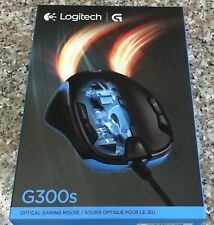 Logitech - G300S Optical Gaming Mouse Black