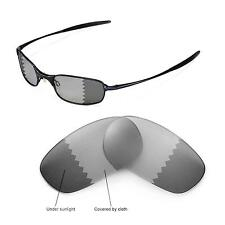 New Walleva Polarized Transition/Photochromic Lenses For Oakley Square Wire 2.0