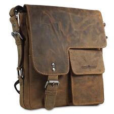 Greenburry Umhängetasche 1912M Handtasche Leder Damen Shoulderbag