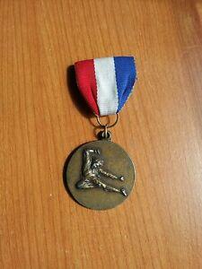 Vintage Martial Arts Sport Medal Karate