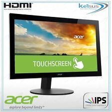 Acer Touch T232HL 23 inch WideScreen Monitor IPS LCD 1920 1080 HDMI VGA Abmjjcz