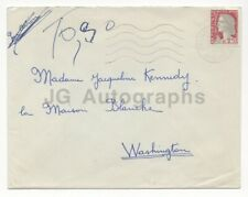 Jacqueline Kennedy Envelope Sent to Her Upon Death of President Kennedy 1963