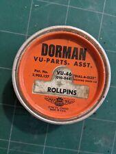 Dorman Vu-Parts Vu-46 Rollpins Dial-a-size Ohio Usa revolving Lid Nos