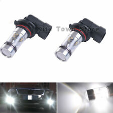 Pair 100W H10 LED Fog light lamp For Chrysler 300 300C 2005-2010 6000K White