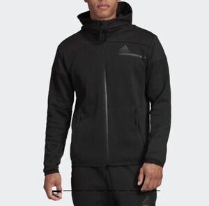 Adidas GM6531 Men originals Z.N.E. Full-Zip Hoodie jacket Black