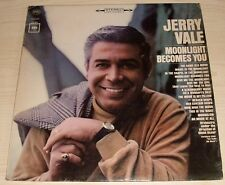JERRY VALE MOONLIGHT BECOMES YOU ALBUM 1965 CBS RECORDS CS 9171