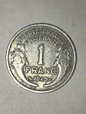 Pièce Ancienne - 1 Francs Morlon 1949 - Ancient French 1 francs coin