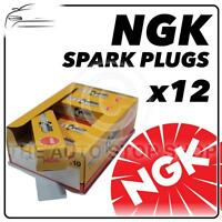 12x NGK SPARK PLUGS Part Number BP4HS Stock No. 3611 New Genuine NGK SPARKPLUGS