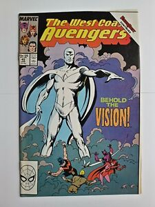The west coast avengers 45 first white vision