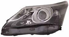 Toyota Avensis 2011-2015 Black Front Headlight Headlamp N/S Passenger Left