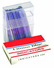 Blue Litmus Paper Pack Of 100 By Go Science Crazy