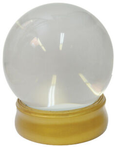 CRYSTAL BALL WITH STAND GYPSY FORTUNE TELLER PROP