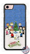 CHARLIE BROWN MERRY CHRISTMAS PHONE CASE COVER FITS iPHONE SAMSUNG GOOGLE LG