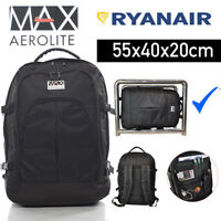 Aerolite Ryanair Max Carry On Cabin Hand Luggage Backpack Rucksack 55x40x20cm