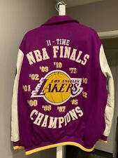 Kobe Los Angeles Lakers Champion Jacket, Large, 11-Time - Pre-Owned