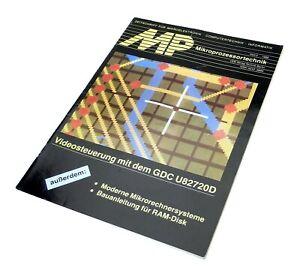 MP MIKROPROZESSORTECHNIK  Heft 3 1988 Computer Zeitschrift DDR Verlag Technik